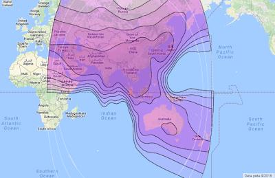 Satelit Asiasat 5 100.5°E Cband