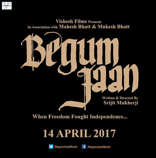 full cast and crew of bollywood movie Begum Jaan 2017 wiki, Vidya Balan story, release date, Actress name poster, trailer, Photos, Wallapper