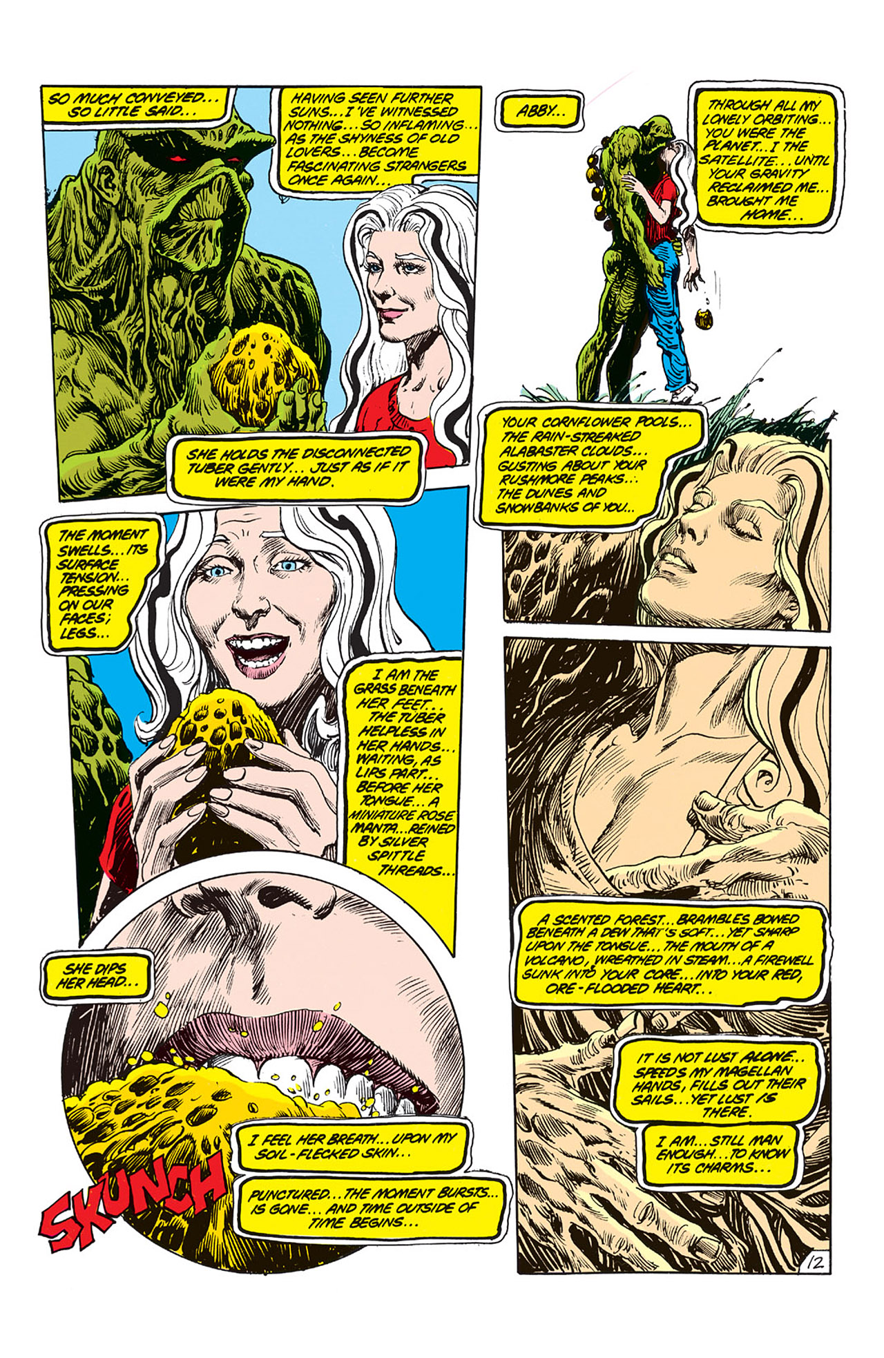 Swamp Thing (1982) Issue #64 #72 - English 13
