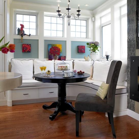 Built In Kitchen Seating | Modern World Furnishing Designer