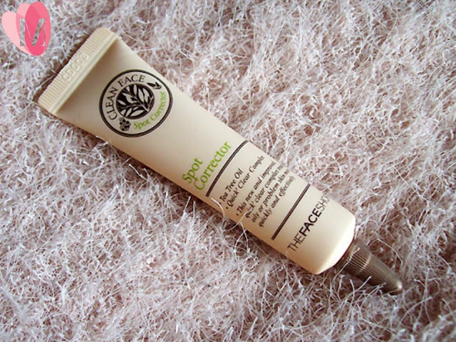 Review gel trị mụn Clean face spot corrector The Face Shop
