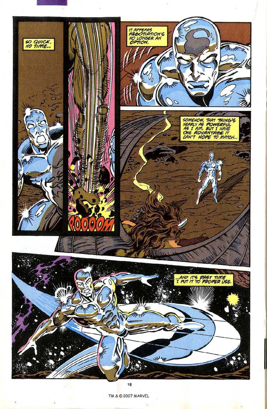 Read online Silver Surfer (1987) comic -  Issue #49 - 20