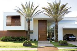 Fachadas de Casas e Muros veja modelos e dicas! Decor Salteado Blog de Decoração Arquitetura e Construção