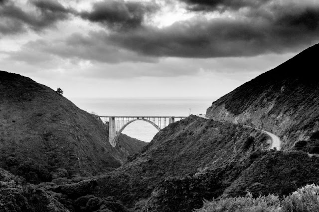 Marc's final image of the Bixby Bridge from 2016.