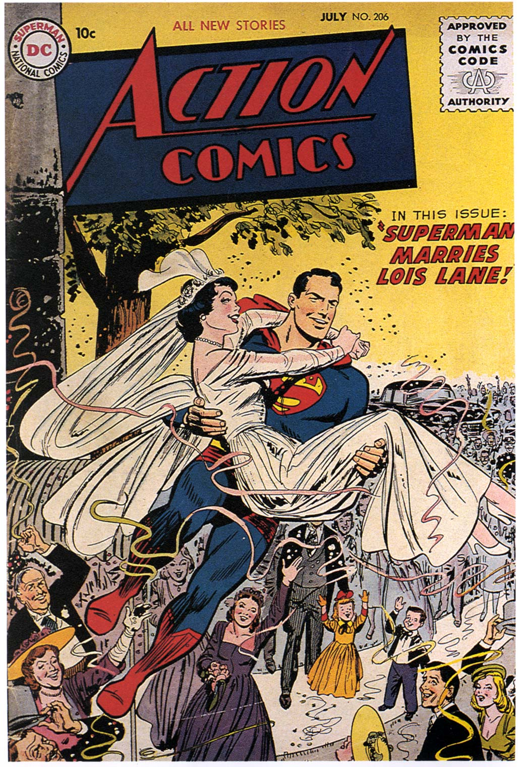 Read online Action Comics (1938) comic -  Issue #206 - 1