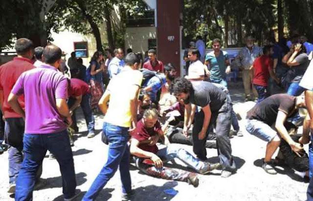 तुर्की: कार में आई महिला ने किया ब्लास्ट, 34 की मौत,125 घायल