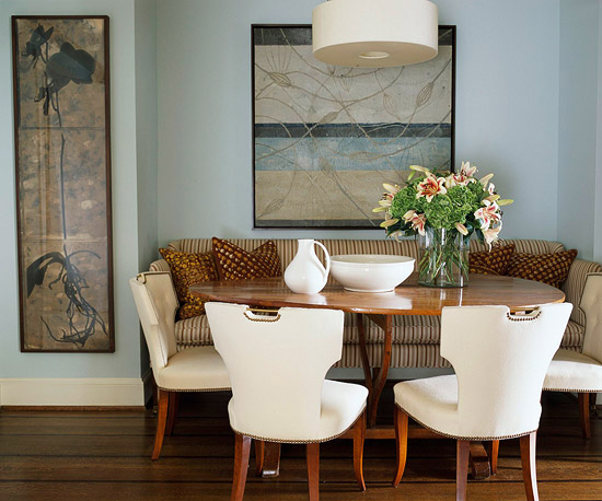 Dining Table With Couch Seating. claire banquette contemporary ...