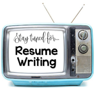 Backstage Pass to Teaching: A Blog Series Especially for New Teachers by Adventures of a Schoolmarm and Smart Puppy Learning || Resume Writing Tips - Traditional and Creative Resumes for Teachers (includes free templates!)