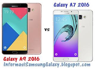 Harga dan Spesifikasi Samsung Galaxy A9 (2016) vs A7 (2016)