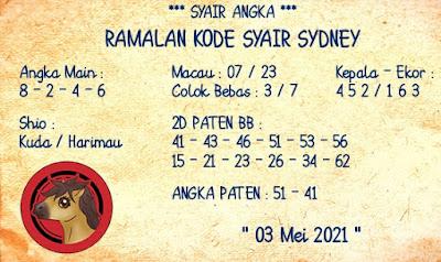 SYAIR HARIAN TOGEL SGP