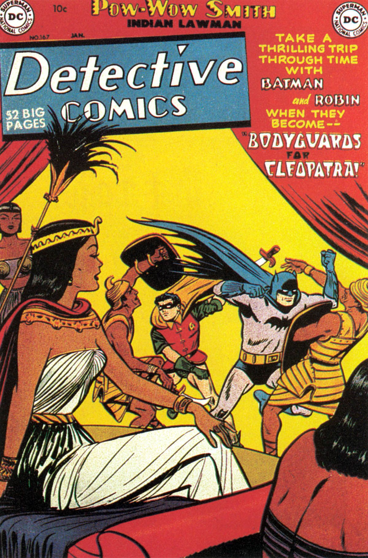 Read online Detective Comics (1937) comic -  Issue #167 - 1