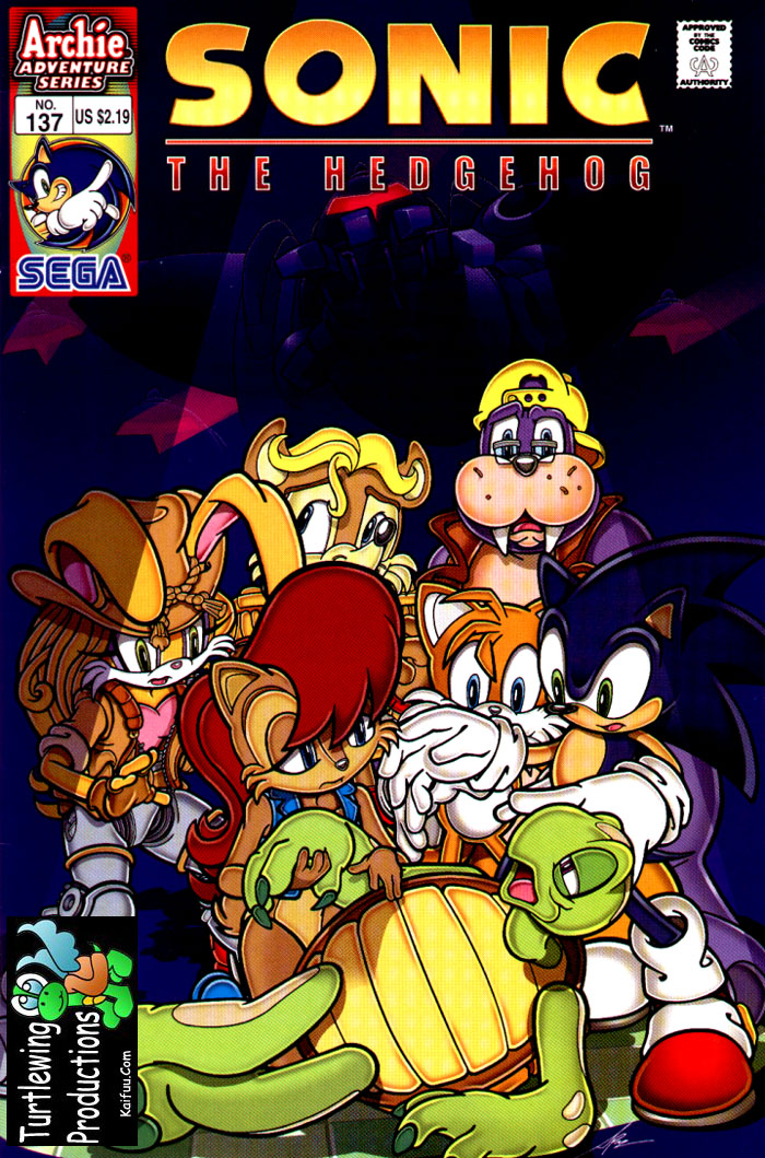 Read online Sonic The Hedgehog comic -  Issue #137 - 1