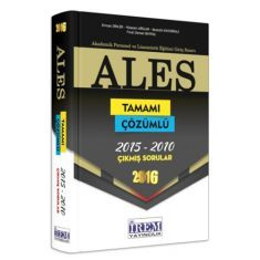 İrem Yayıncılık ALES Tamamı Çözümlü Çıkmış Sorular Kitabı (2016)