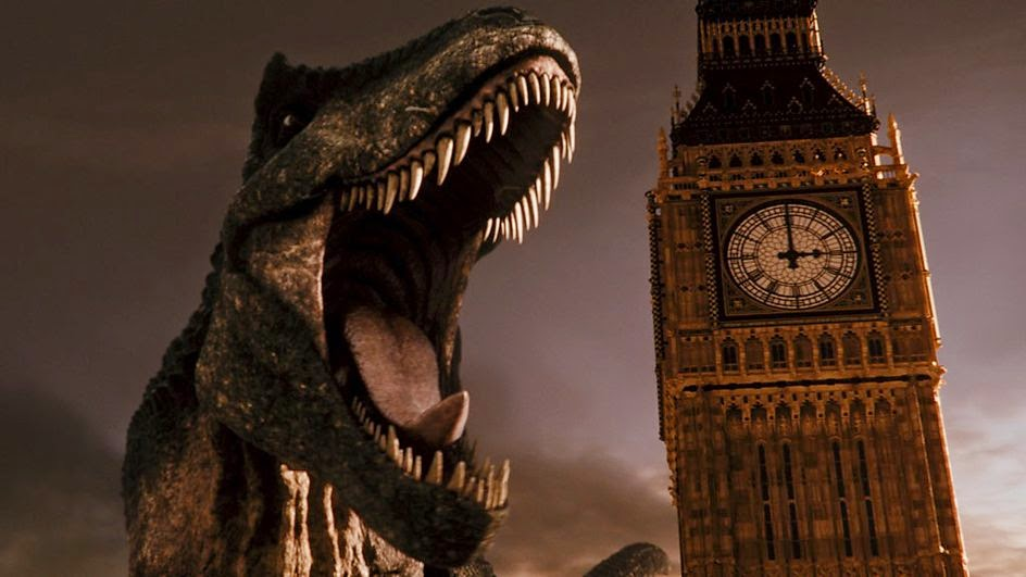 Deep Breath kicks off with a T-Rex in London