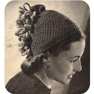 Vintage Florentine Skull Cap Crochet Pattern