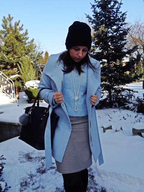 Zimowy błękit