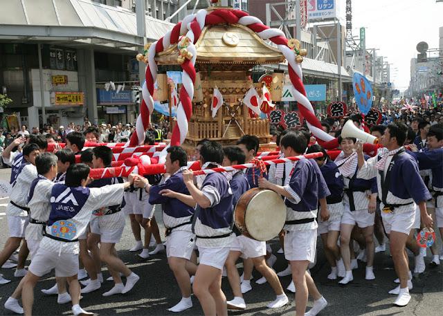 Dousan Matsuri (Saito Dousan Festival), Gifu City, Gifu