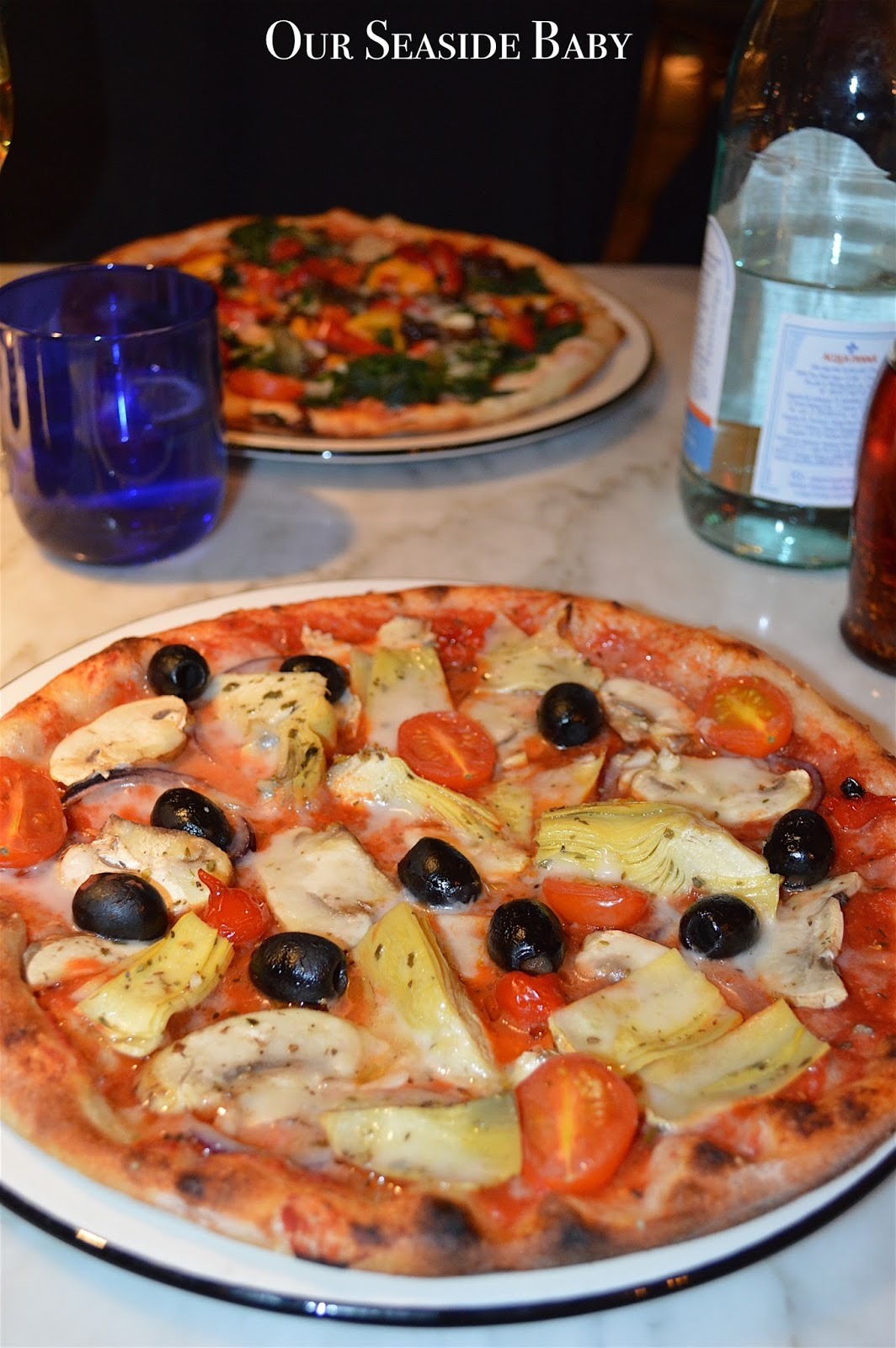 Vegan Pizza Party At Pizzaexpress Our Seaside Baby