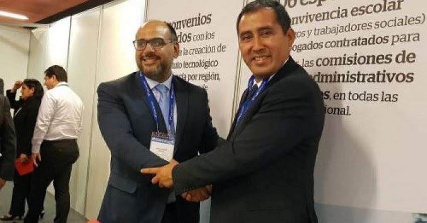 Electo Gobernador de Áncash, Juan Carlos Morillo, busca apoyo para la educación y la salud en la región