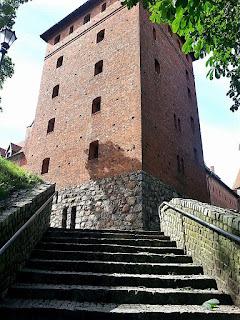zamek w bytowie, bytów, zamek krzyżacki, podróże, nic na poważnie
