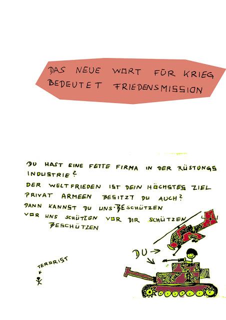 Dr. Kristian Stuhl 2012, Friedensmission, Das Klo spült alles fort, A4