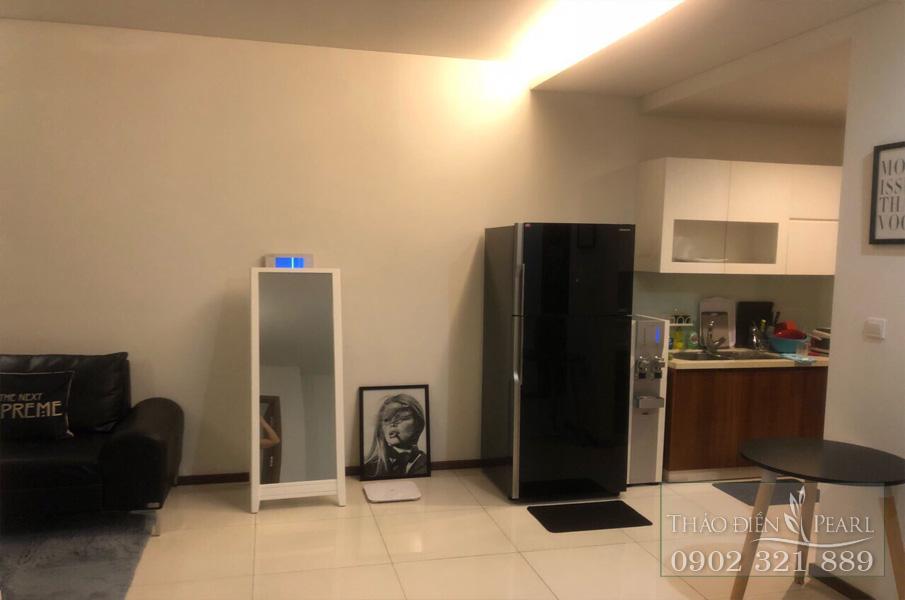 Cho thuê Thảo Điền Pearl 2PN tầng 8 full nội thất - hình 4