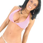 Andrea Rincon, Selena Spice Galeria 7 : Cachetero Blanco, Tanga Blanca, Top Bikini Rosado Foto 129