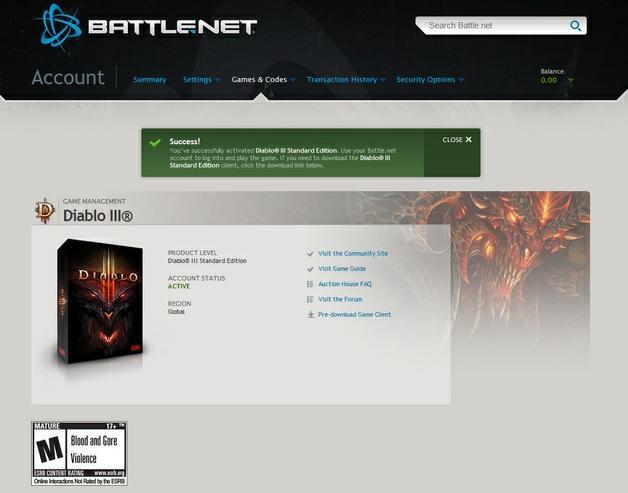 Diablo 3 CD Key Generator | ExtensionsGames