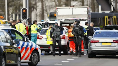 Tres muertos y cinco heridos por un tiroteo en la ciudad neerlandesa de Utrecht
