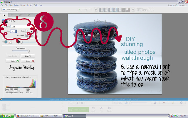 Step 8 in stunning title photos walkthrough tutorial from www.anyonita-nibbles.com