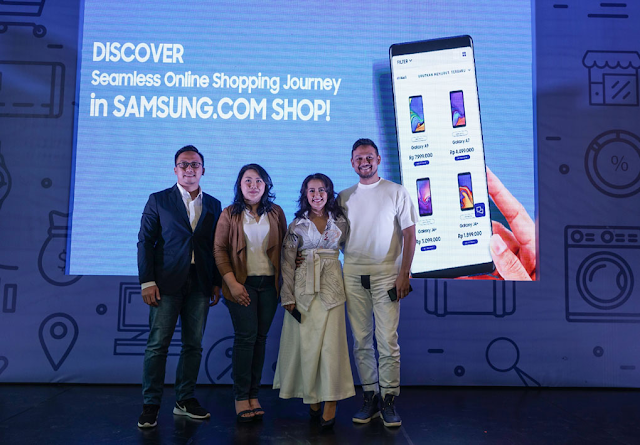 Samsung Buka Toko Online Sendiri