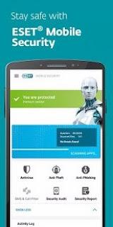 تحميل تطبيق ESET Mobile Security & Antivirus PREMIUM v5.0.26.0 + Keys