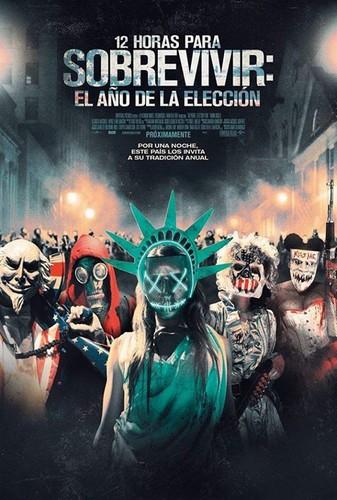12 Horas Para Sobrevivir: El Año De La Elección (2016) [BDrip Latino]
