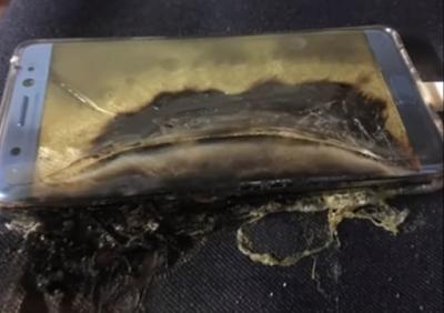 سامسونغ تسحب هاتف غالاكسي نوت 7 الجديد بسبب احترق بين أيدي المستخدمين