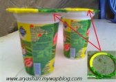 An Easy Way To Make A Bag From The Glass Neck Of Mineral Water
