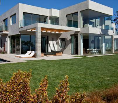 Jardines de casas modernas free fotos de terrazas de for Casa moderna jardines