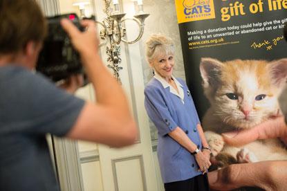 Anita Dobson at the National Cat Awards