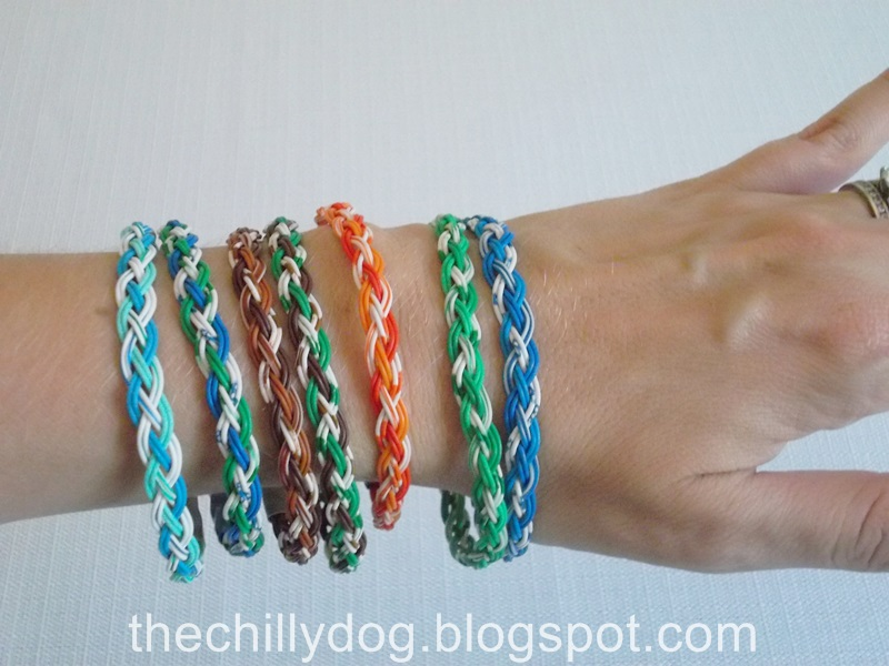 Upcycled Wire Bracelet | The Chilly Dog