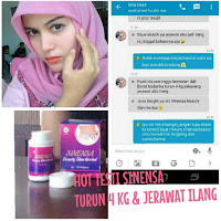 Testi Sinensa Capsul Beauty Slim Herbal BPOM