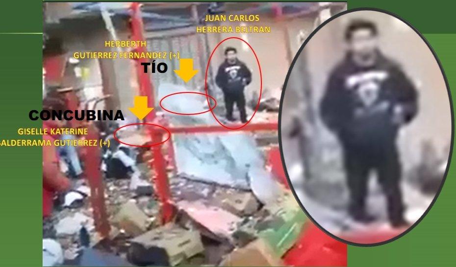 Policía cree que paseo de Herrera frente a los agonizantes delata culpabilidad / POLICÍA BOLIVIANA