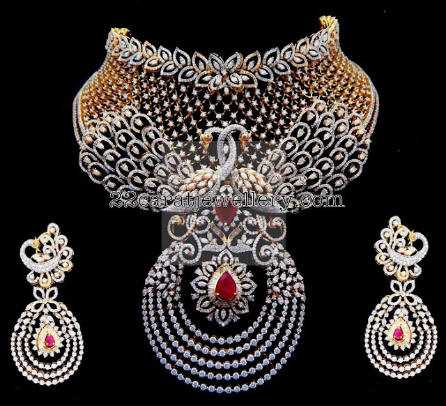 Tremendous Diamond Set by Kothari Jewelry