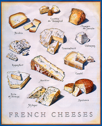 un coup d 39 aile french food friday the 8 categories of french cheese. Black Bedroom Furniture Sets. Home Design Ideas
