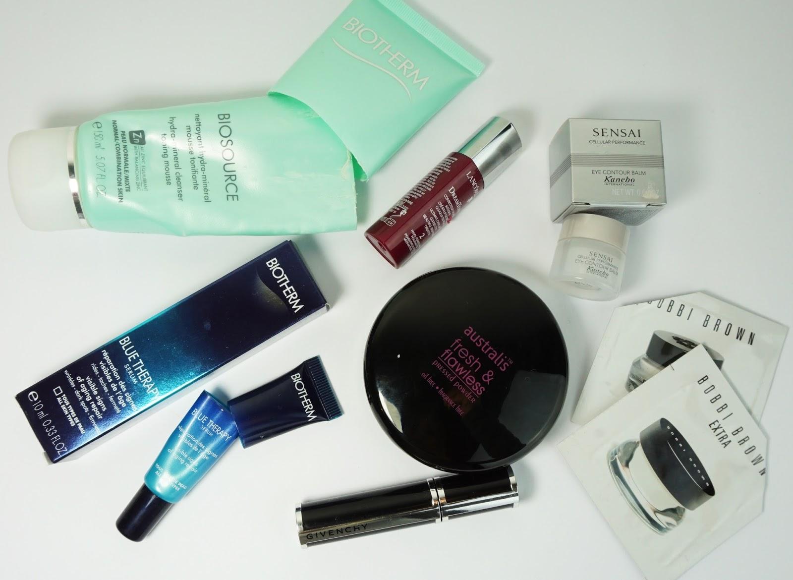 Aufgebraucht Kosmetik - Februar März 2015 Review