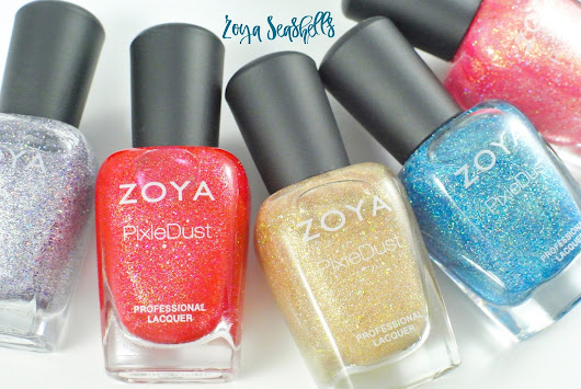 Zoya Seashells and Sunsets | Summer 2016 Collection