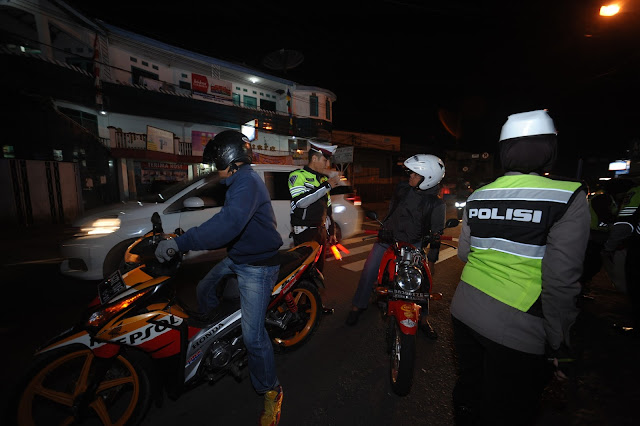 FOTO : Operasi Patuh Lodaya Polres Sukabumi  Kota