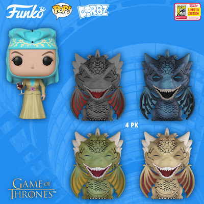 San Diego Comic-Con 2018 Exclusive Game of Thrones POP! & Dorbz Vinyl Figures by Funko