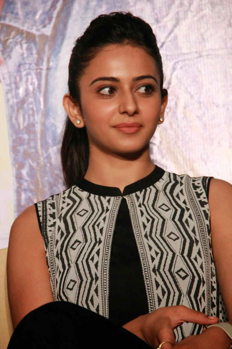 Rakul Preet Singh Stills in Black Dress