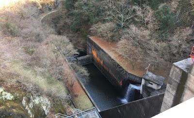 竜神ダム 下流側