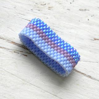 купить минималистичное кольцо украшения от анабель бисер