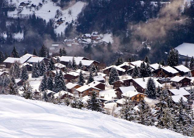 Lachat Muntii Alpi Savoie Franta